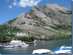 1412 Alberta - Waterton Lakes National Park - town of Waterton - Waterton Marina Upper Waterton Lake