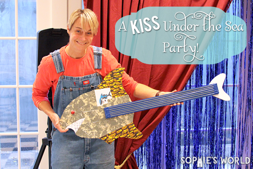 Kiss Under the Sea Party header
