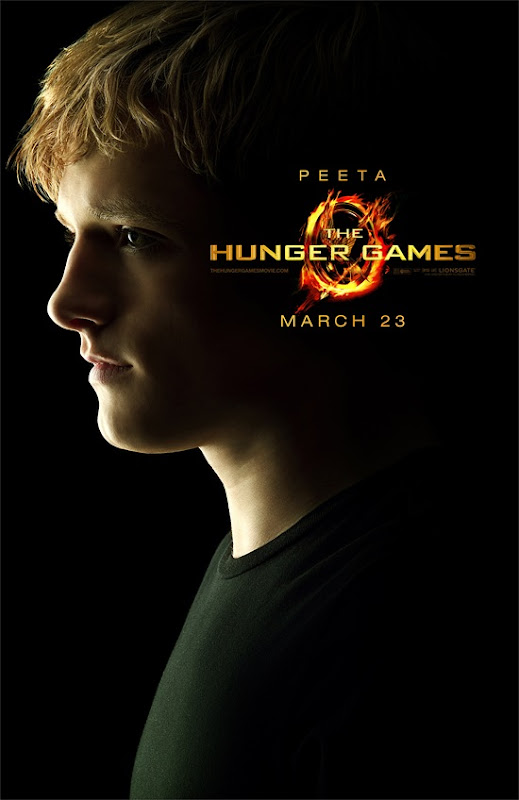 The Hunger Games Josh Hutcherson is Peeta Mellark