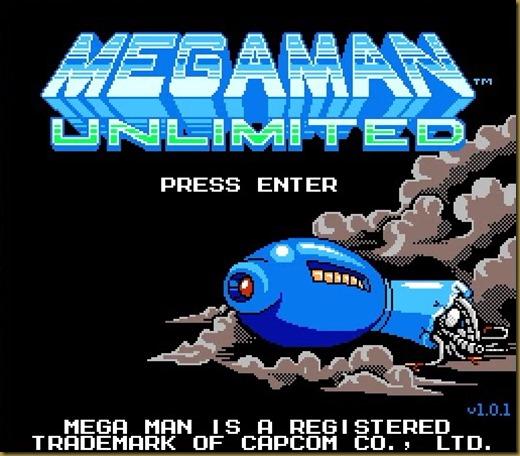 MegaMan Unlimited タイトル
