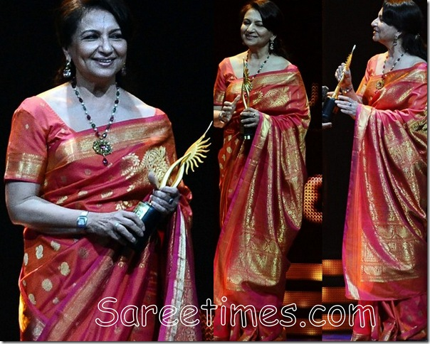 Sharmila_Tagore_Pink_Saree