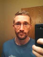 self portrait - think I was still enamoured with my beard