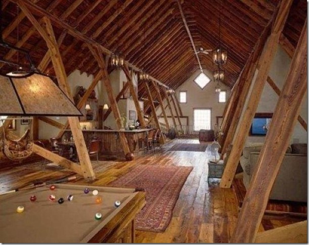 Small Attic Man Cave : Man cave pole barns pics joy studio design gallery