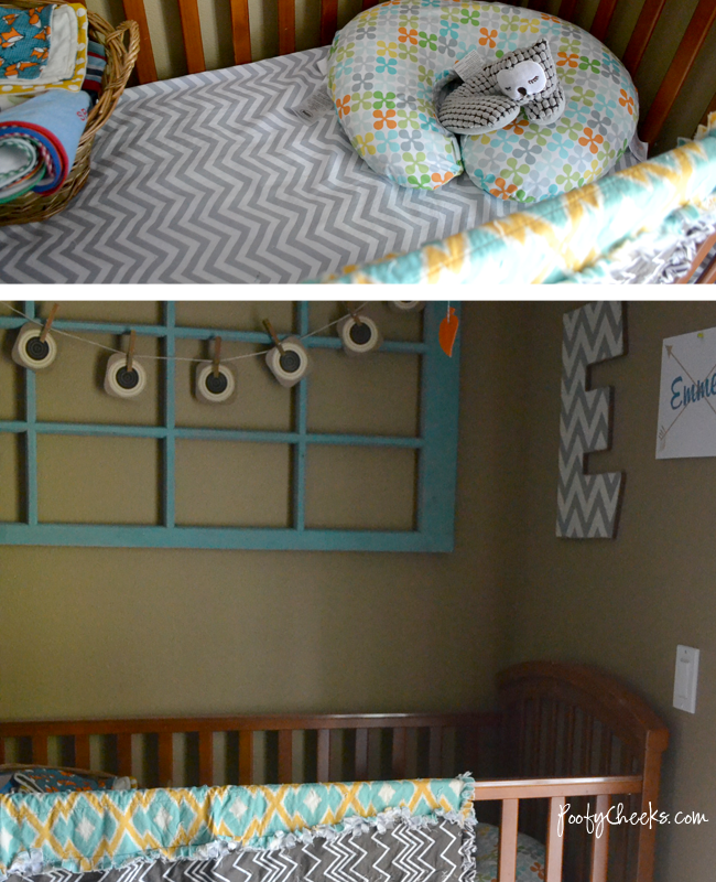 Rustic Woodland Nursery #boynursery #decor
