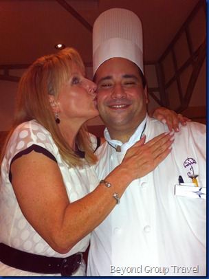 Dining Diva with Chef from Jacques