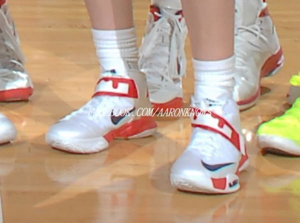 Nike Zoom LeBron Soldier 6 8211 Sue Bird USAB amp WNBA PEs
