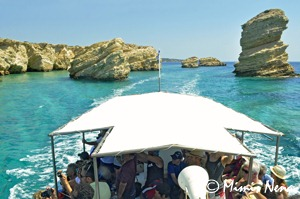 SAIL TO GLARONISI ISLAND