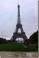 Eiffel Tower from Champ de Mars (Small)