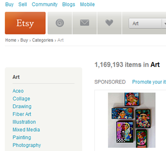 etsy shop artists