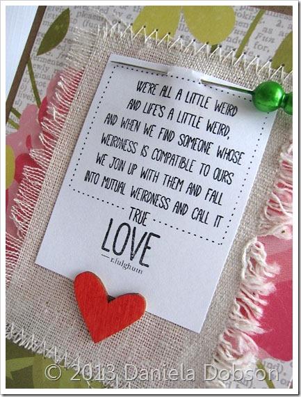 True love close by Daniela Dobson