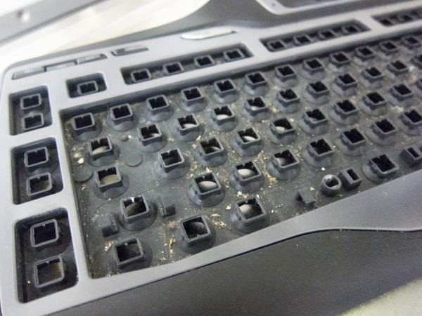 how to clean g15 keyboard