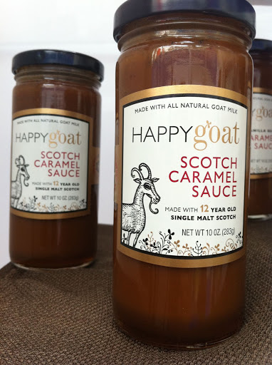 We could eat this Happy Goat Scotch Caramel Sauce by the spoonful! Oh wait, we did.