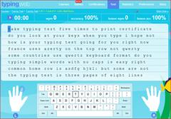 Belajar Mengetik Secara Online di TypingWeb.com