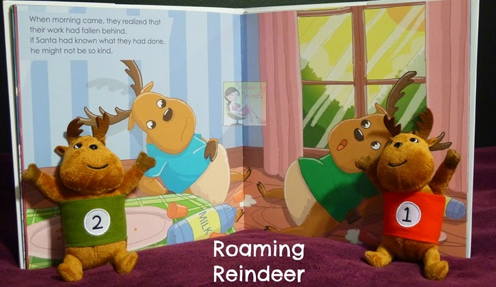 Roaming Reindeer Book