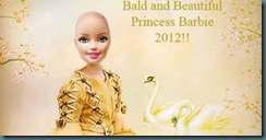 bald barbie princess