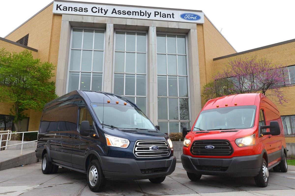Ford starts building 2015 transit van in kansas city