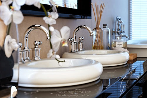 Classic Luxury Bathroom_Washbasin Detail