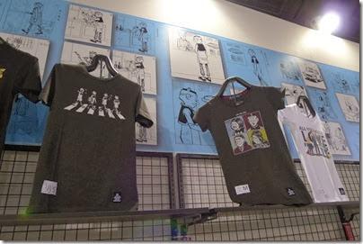 老夫子 X The Beatles tee shirts