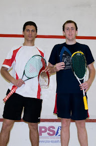 2009 ProAm finalist Amr Mansi and champion Ryan Cuskelly