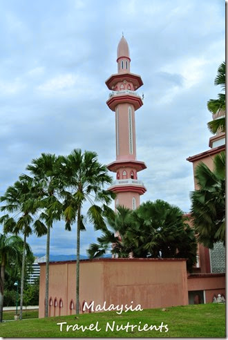 馬來西亞沙巴大學 粉紅清真寺 (15)