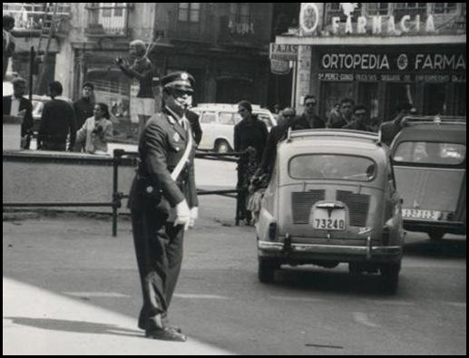 guardia trafico años 70