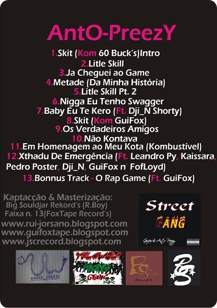 Mixtape I Love Hater´z(Kapa d Trás)