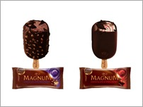 Magnum Chocolate Brownie & Chocolate Strawberry