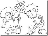 colorear medio ambiente dia de la tierra (2)