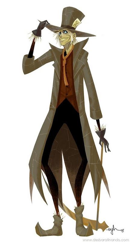 Eric-Y.-Huang-aka-Gingashi-Mad-Hatter-Scarecrow-desbaratinando