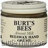 Burt's Bees Almond Milk Beeswax Hand Creme 2oz