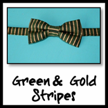 green & gold stripe