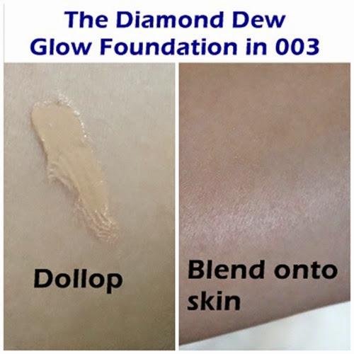 BE The Diamond Dew Glow Foundation review