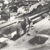Luftbilder des Bahnhofs