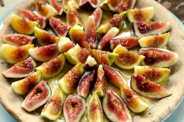 Mascarpone fig tart 4