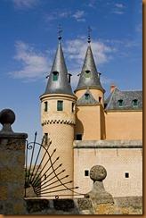 Segovia, alcazar view