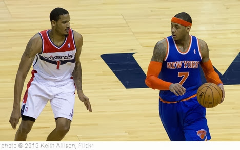 'Trevor Ariza, Carmelo Anthony' photo (c) 2013, Keith Allison - license: http://creativecommons.org/licenses/by-sa/2.0/