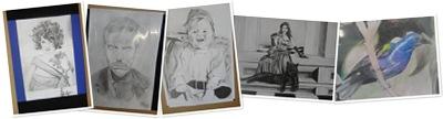 Exibir exposição de desenhos