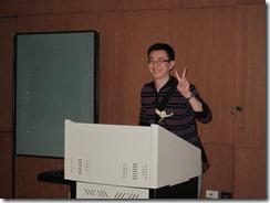 感謝招生處江先生協助
