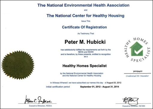Healthy Homes Charlotte NC certification from Get The Lead Out.