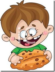 Cartoon_Little_Boy_Eating_a_Chocolate_Chip_Cookie_110406-130502-977042