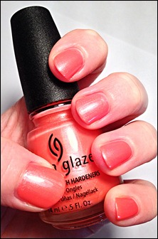 China Glaze I Wanna Lei Ya Swatch