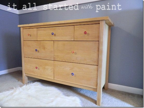Maple Dresser Refinished