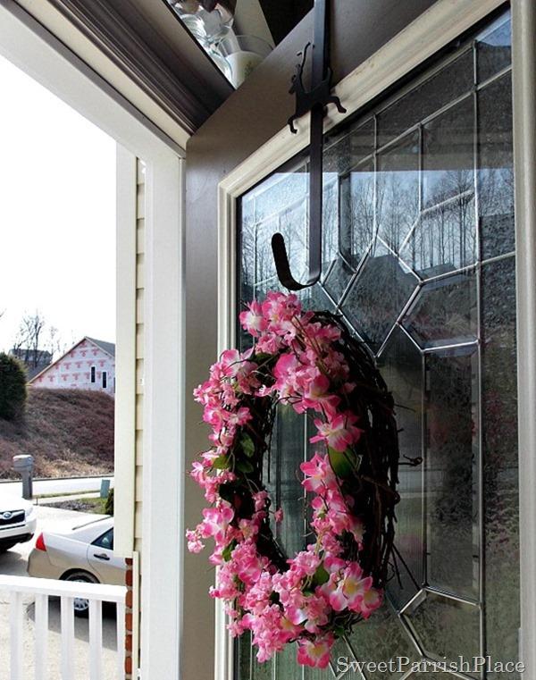 Cherry Blossom Wreath3