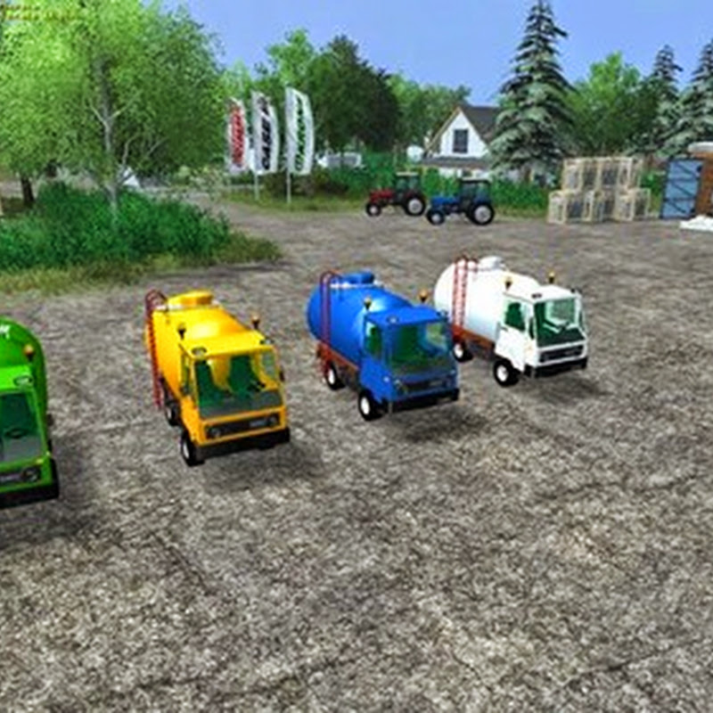 Farming simulator 2013 - Vans Water Milk v 1.1