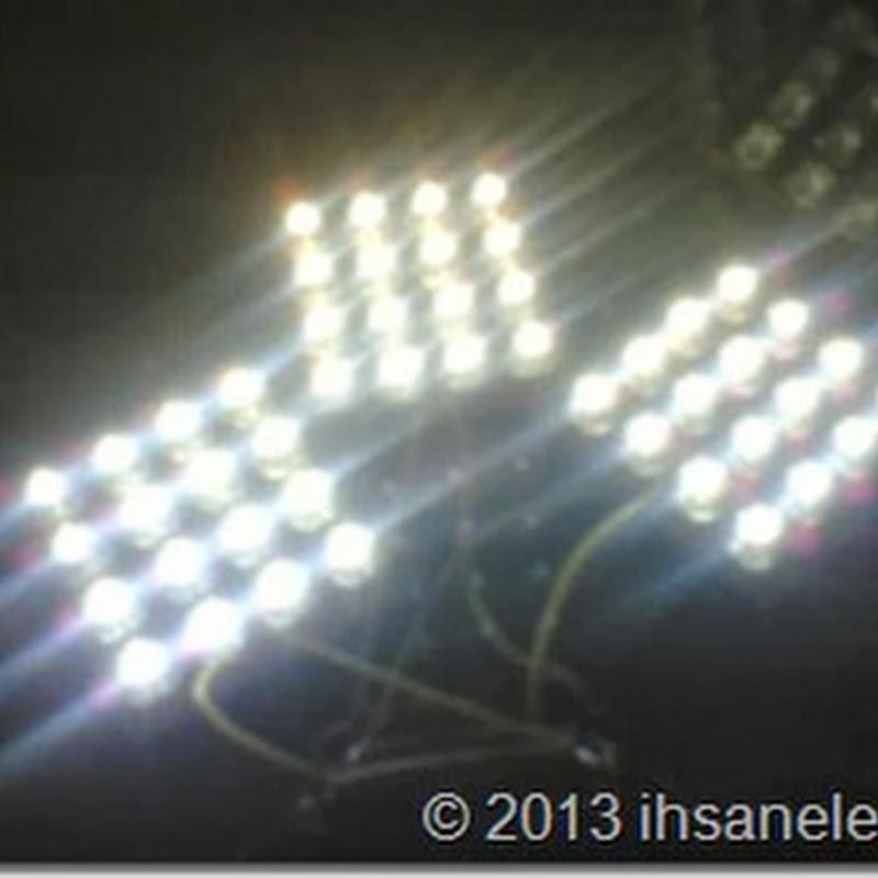 Cara Merakit Rangkaian Lampu Led 12 Volt