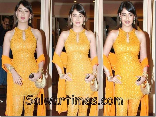 Preeti_Jhangiani_Orange_Designer_Salwar_Kameez