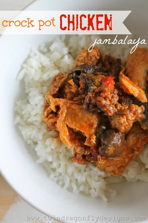 Crock Pot Chicken Jambalaya Recipe