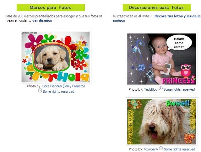 Ondapix para Facebook
