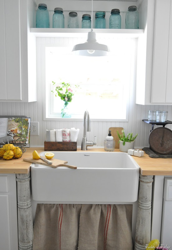 new kitchen farm sink