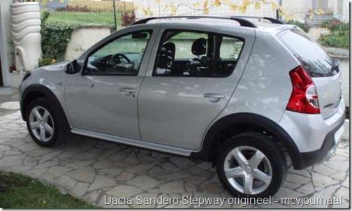 Folie Dacia Sandero Stepway 03